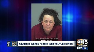 Arizona woman arrested for abusing 7 kids