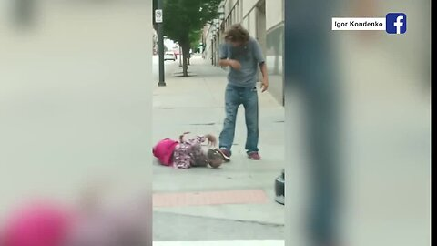 Man lugging life-size doll through downtown KC raises alarm