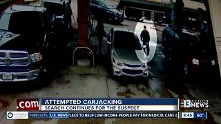 Brazen attempted carjacking caught on camera - Video