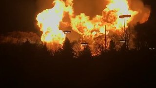 Orion Township fire - Video