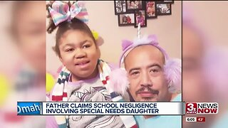 Council Bluffs father claims school negligence involving special needs daughter