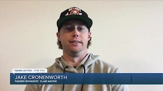 St. Clair native Jake Cronenworth up for rookie of the year honors