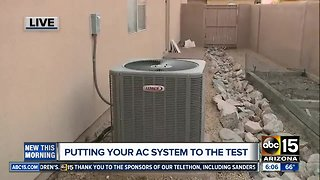 Is your air conditioner ready for the summer temperatures?