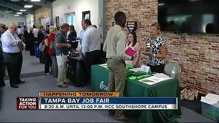 Tampa Bay Job Fair hosting dozens of employers looking to hire on Friday - Video