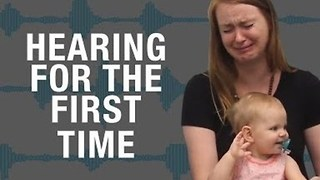 Deaf People Hearing For the First Time - Video