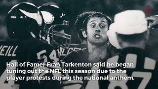 Fran Tarkenton Questions Motive Of Anthem Protesters - Video