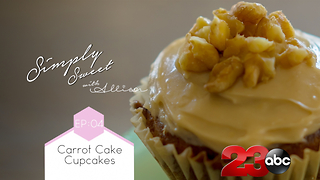 Simply Sweet: Carrot Cake Cupcakes - Video