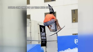 Flowrider Wave Competition returned to Planet Hollywood hotel-casino - Video