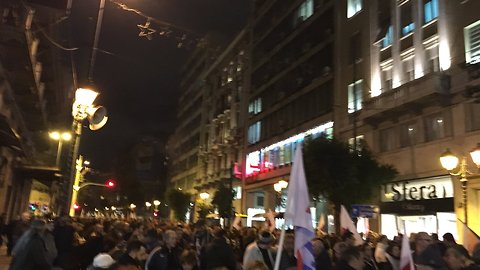 Protesters Rally in Athens Against New Bailout Deal
