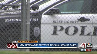 New information expected in sexual assault cases