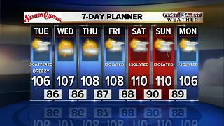 13 First Alert Weather for July 11 2017 - Video