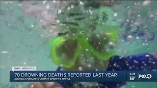 Drowning deaths are not seasonal in Florida