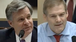 Rep Jim Jordan GRILLS FBI Director Chris Wray Over Peter Strozk - Video