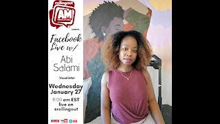 Abi Salami discusses her exploration as an artist on The AM Wake-Up Call