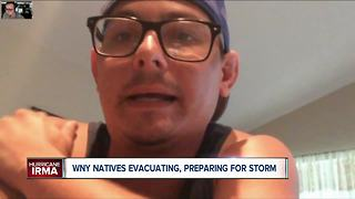 WNY natives in Florida prepare for Hurricane Irma - Video