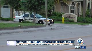 Stranger danger in Martin County - Video