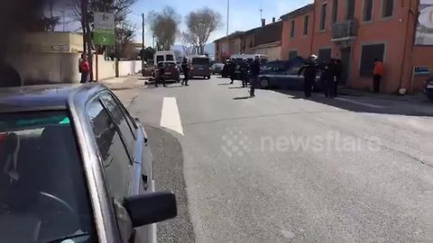 Police on scene at French supermarket hostage situation
