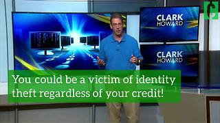 You're at risk for identity theft even if you have bad credit! - Video