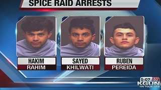 Police identify suspects arrested in drug raid - Video