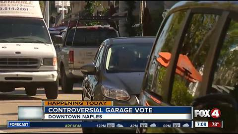 Controversial parking garage vote