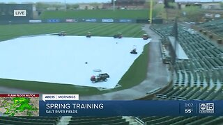 Spring Training games impacted by rain