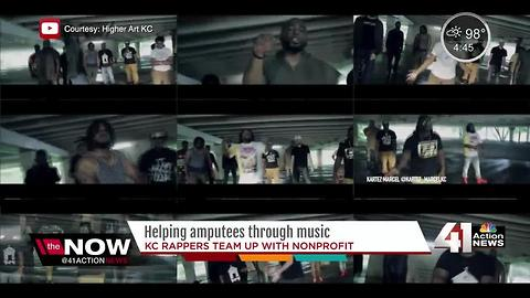 Local hip-hop group teams up with nonprofit group