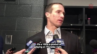 Drew Brees Doesn't Like NFL Playing On Thursday Night - Video
