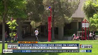 UNLV'S location could be contributing to recent rash of crime - Video