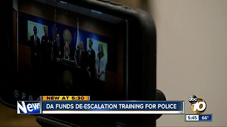 District Attorney funds de-escalation training for police