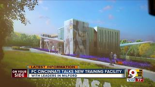 FC Cincinnati reveals plans for practice facility in Milford - Video