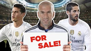 Real Madrid To Sell Superstars? | Transfer Talk - Video