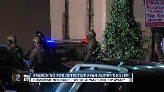 Search for Det. Sean Suiter's killer continues - Video
