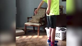 Extreme Hoverboard Fail - Video