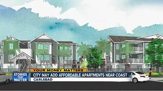 Carlsbad may add affordable apartments west of Interstate 5 - Video