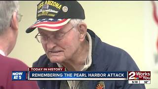 USS Arizona survivor remembers Pearl Harbor attack