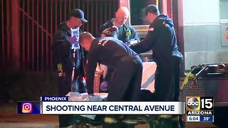 Shooting near Central Avenue/Broadway Road - Video