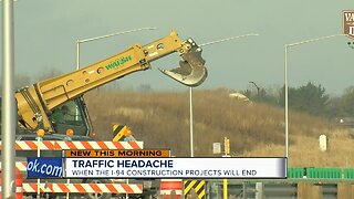 I-94 construction projects to end in June
