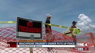 Fences on beaches cause uproar and confusion about new Florida law - Video