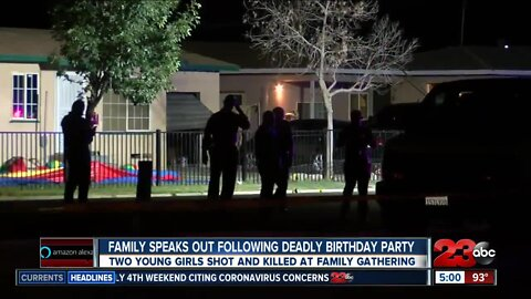 Family speaks out following deadly birthday shooting