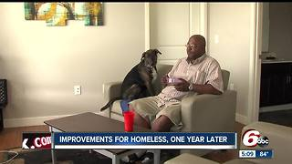 Penn Place apartments provide housing for Indy's homeless - Video