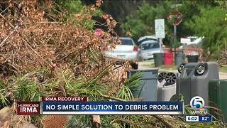 Debris cleanup a big challenge in South Florida, Treasure Coast - Video