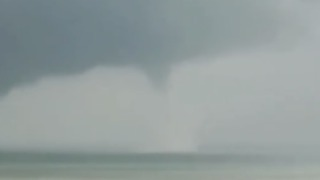 Waterspout Seen off Sicily During Wave of Bad Weather in Italy - Video