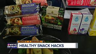 Mom's a Genius: Healthy snack hacks - Video