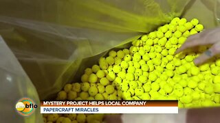 Mystery project helps local company