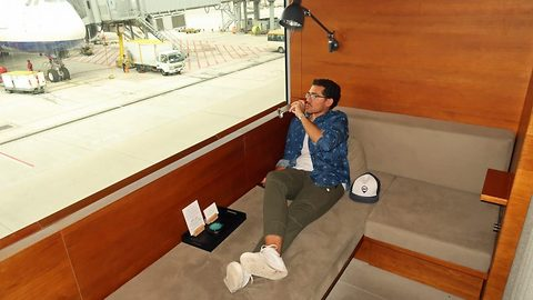 Experiencing the high life: Man flies first class from Hong Kong to New York for just 50GBP, saving a staggering 13000GBP