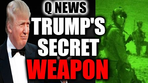 Trump's SECRET WEAPON Against The CRIMINAL PLOT TO STEAL The 2020 Election...
