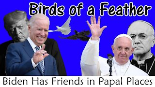 FRIENDS IN PAPAL PLACES: Joe Biden and Pope Francis Relationship Revealed on TV | NEWSFLASH