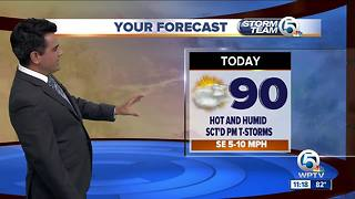South Florida Thursday afternoon forecast (7/12/18) - Video