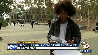 Offensive word added to UCSD study guide - Video