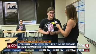 Cape Coral High School celebrates reading at second annual literacy festival - 7:30am live report - Video